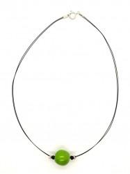 Pendentif Boule vert V