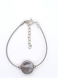 Bracelet 1Perle Rond nacré