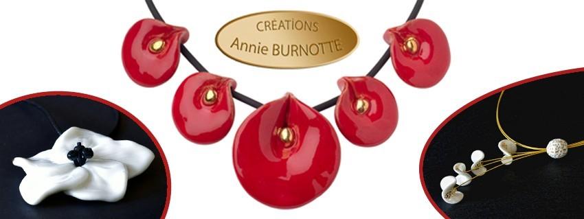 Bijoux de créateur céramique fait main en France par Annie BURNOTTE